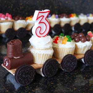 Train Cupcakes