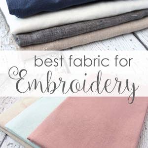 Best Embroidery Fabric