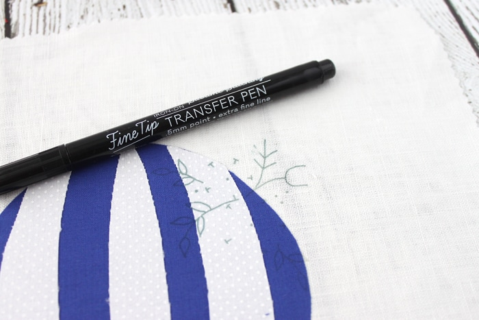 How to Transfer an Embroidery Pattern with Heat Transfer Pens