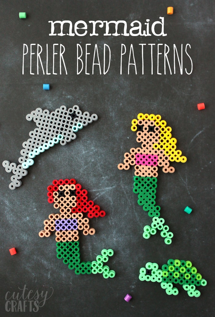 Easy Mermaid Perler Bead Patterns