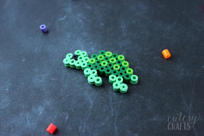 Perler Bead Turtle - Free Pattern!