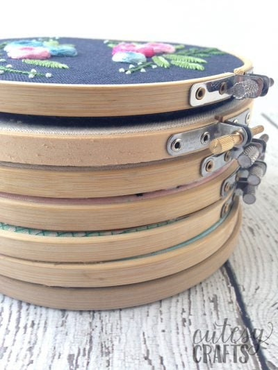 5 Essential Hand Embroidery Supplies - Hoops