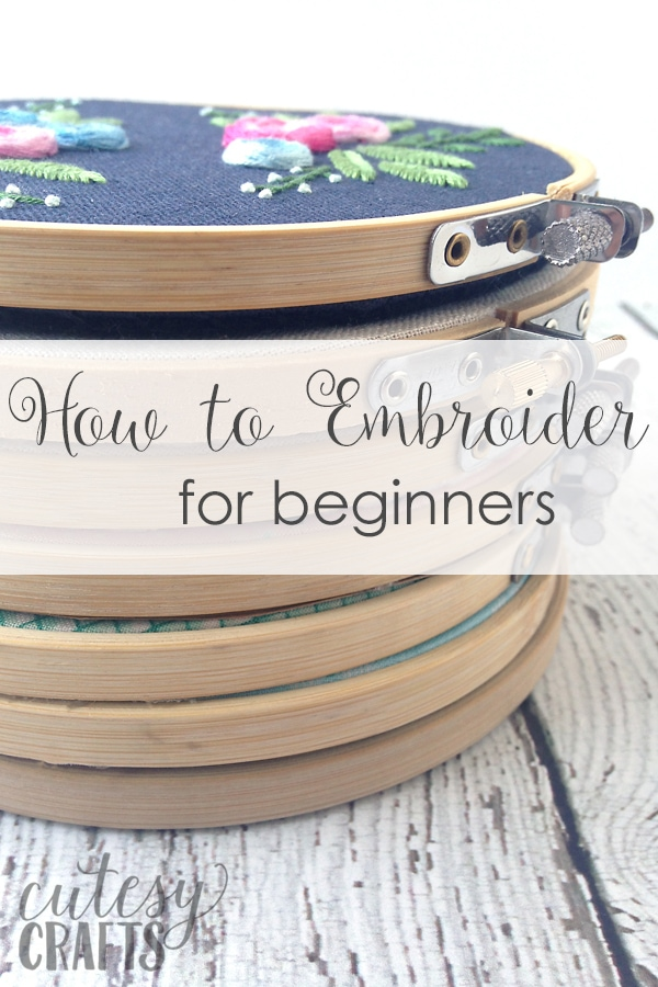 How to Embroider for Beginners