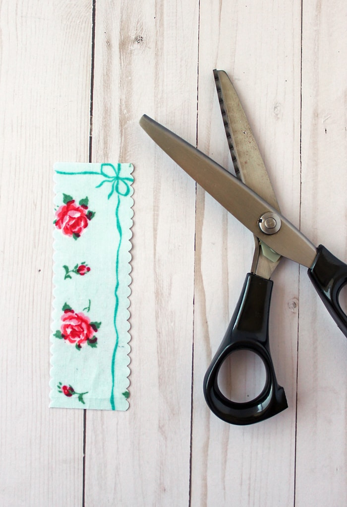 scallop fabric scissors shears
