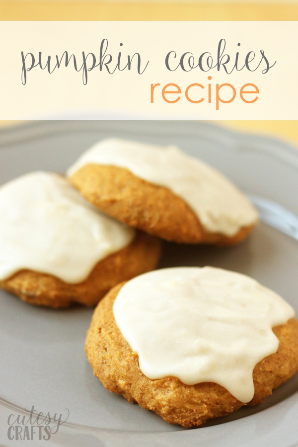 Iced Pumpkin Spice Cookies Recipe