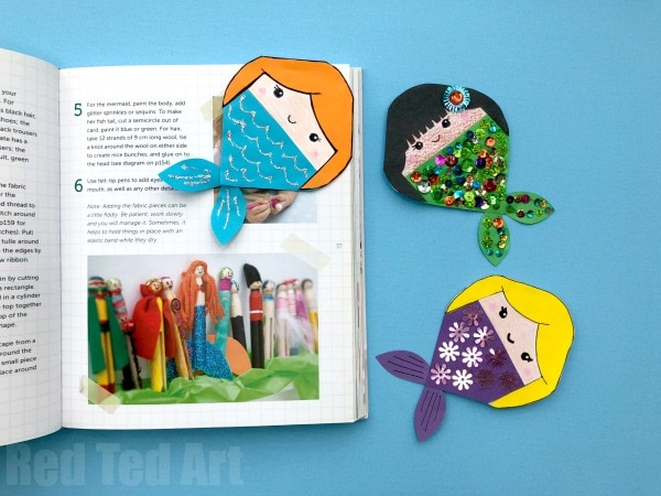 40+ Adorable Mermaid Crafts for Kids and Adults