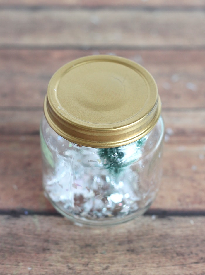 Christmas Snow Globe Craft for Kids