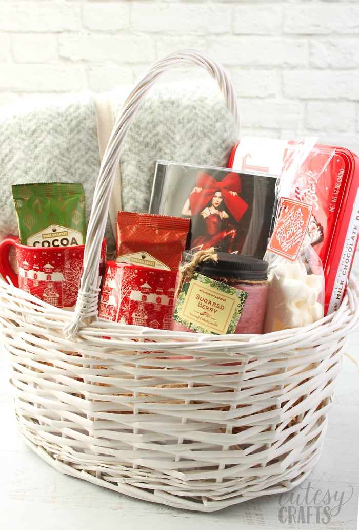 Music Lover's Gift Basket Idea!