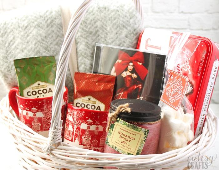 Music Lover's Gift Basket Idea!