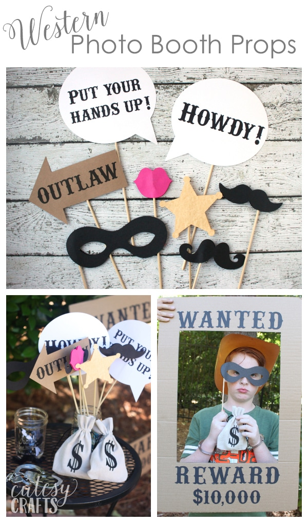 Free Printable Western Photo Booth Props Cutesy Crafts