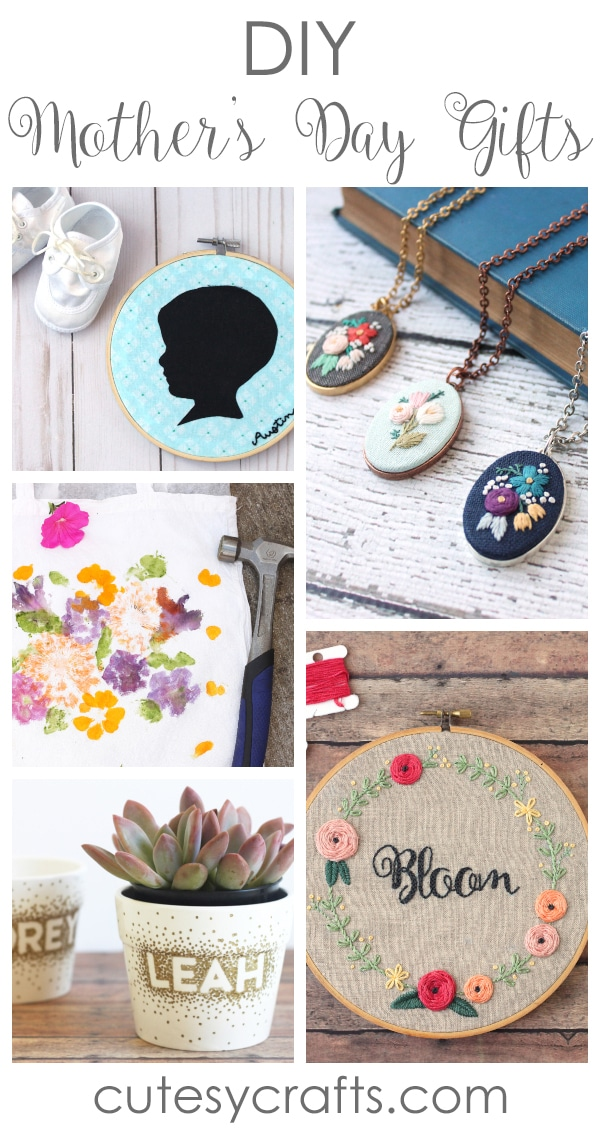 20 Diy Mother S Day Gifts Cutesy Crafts