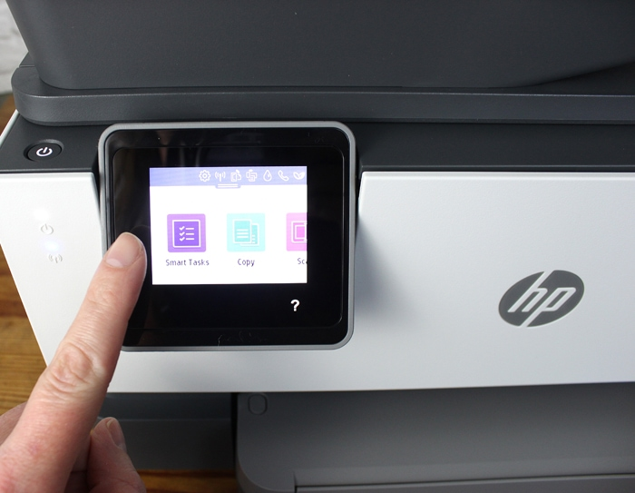 Smart Tasks HP OfficeJet Pro 9015