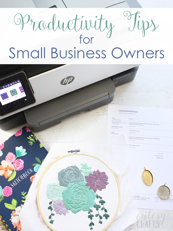 Productivity Tips for Small Business Owners with Office Depot