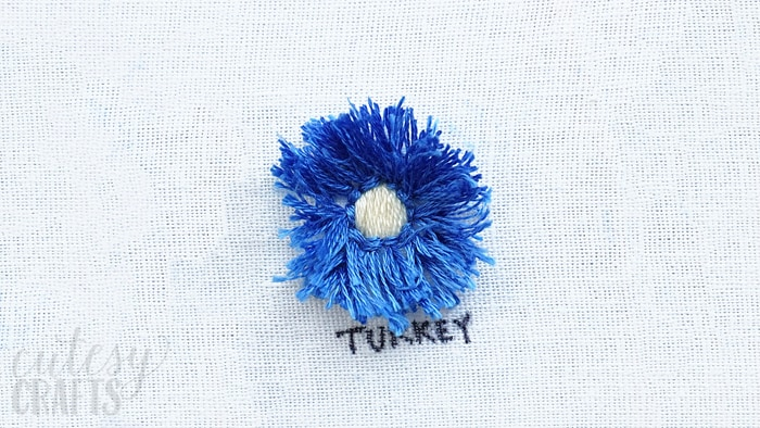 How to do the Turkey Stitch