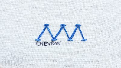 How to do the Chevron Stitch