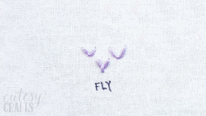 How to do the Fly Stitch