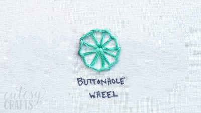 How to Make a Buttonhole Wheel