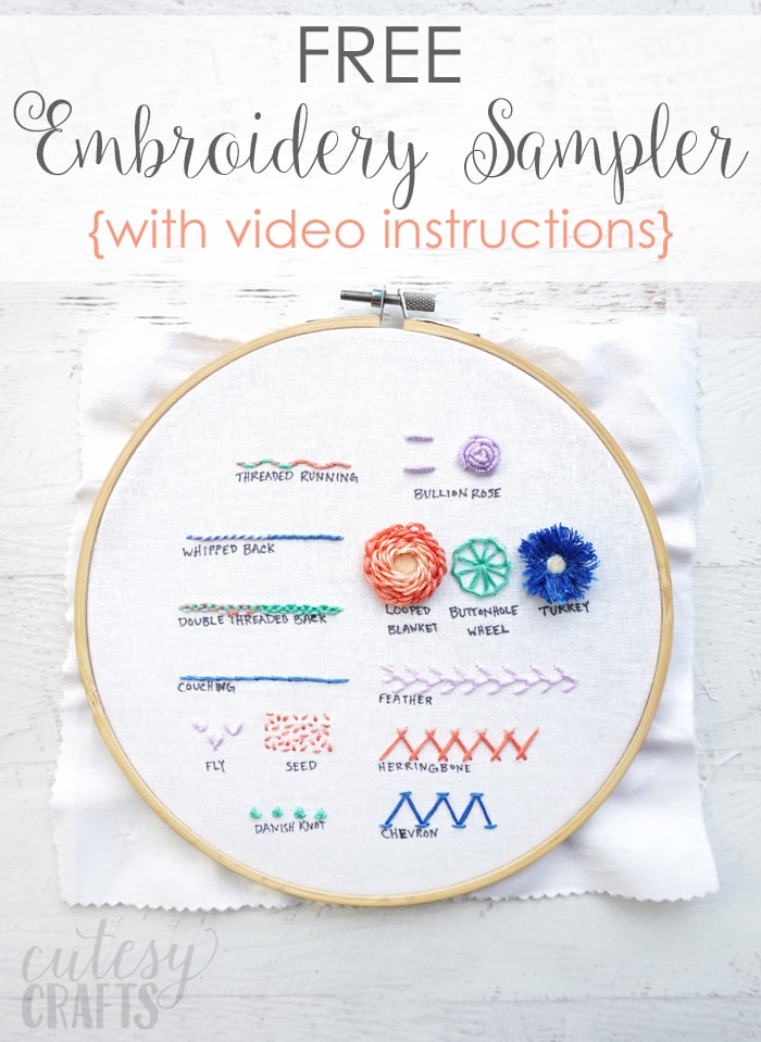 embroidery stitches guide