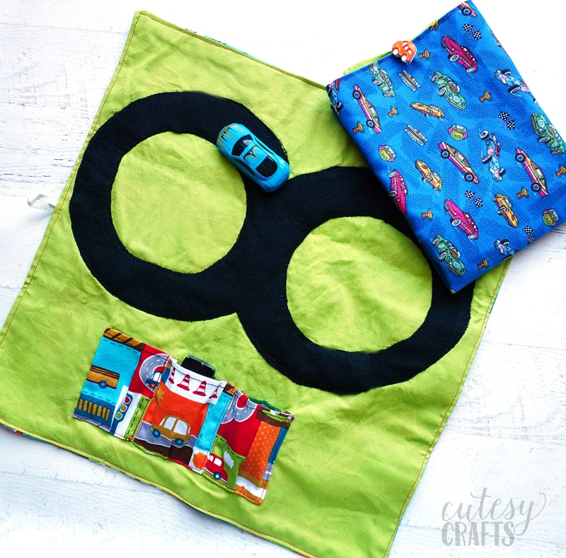 DIY Gift for Kids - Car Wallet Tutorial
