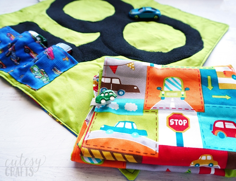DIY Gift for Kids - Car Wallet Tutorial