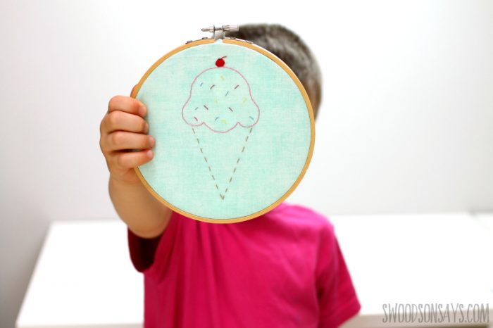 beginner embroidery pattern