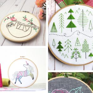 Embroidery Archives Cutesy Crafts