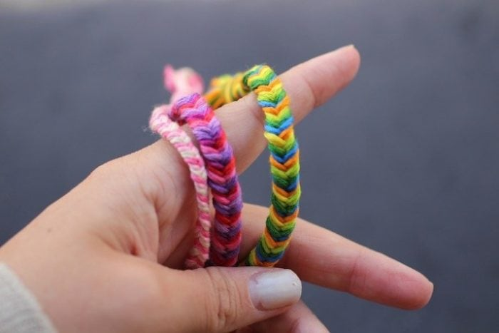 friendship bracelets with string