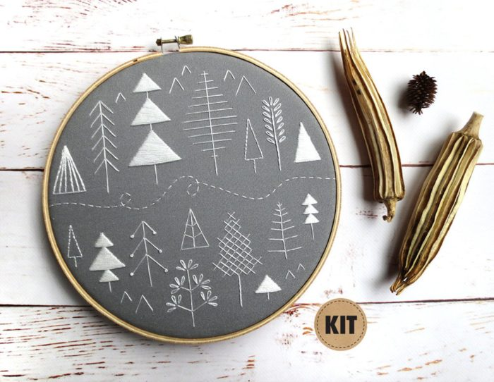 simple embroidery kit
