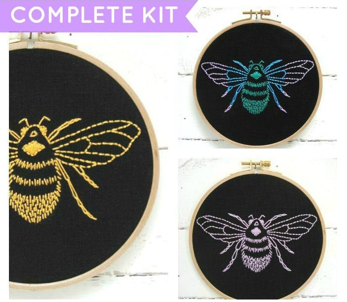 20+ Best Embroidery Kits for Beginners