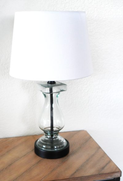 small entry table lamp