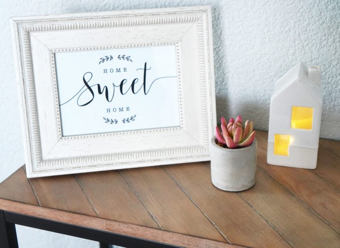home sweet home printable art