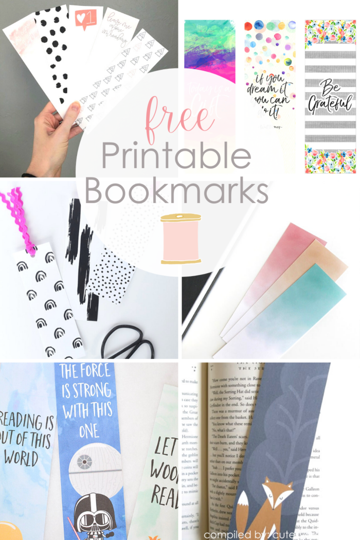12+ Free Printable Bookmarks