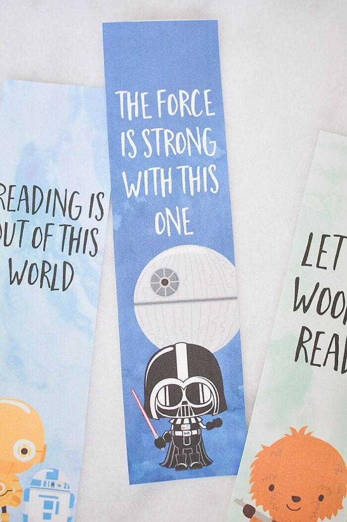 Star Wars Printable Bookmarks