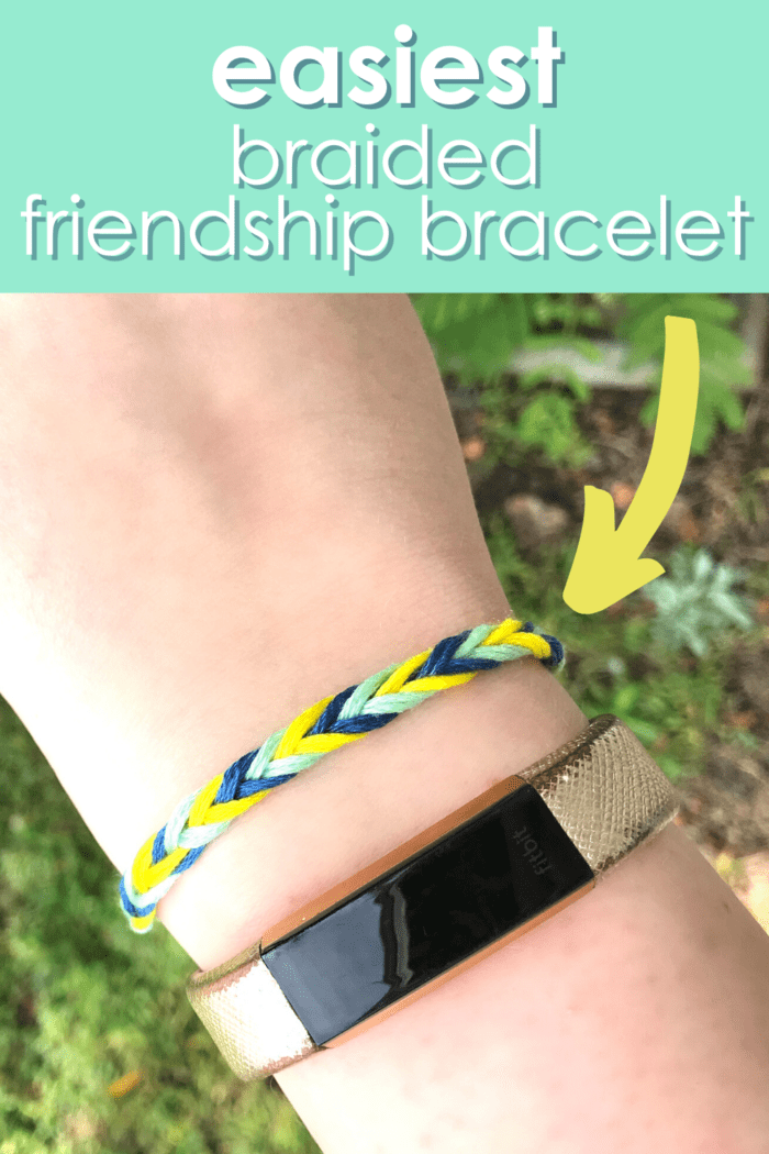 Easy Friendship Bracelet Tutorial