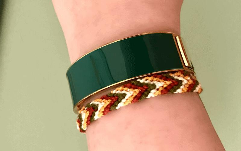 Easy Chevron Friendship Bracelet Tutorial