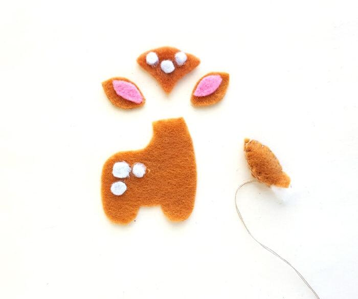 sewing felt ornament