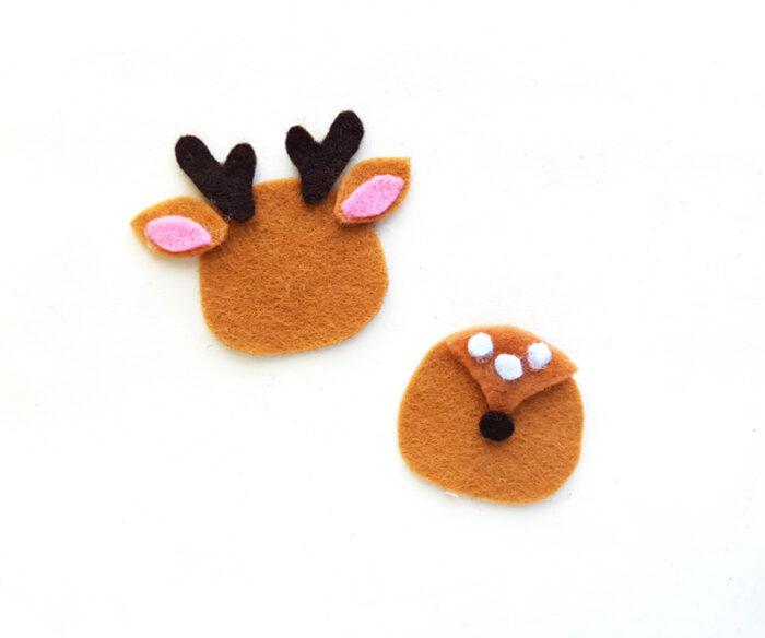 DIY Felt Deer Ornament