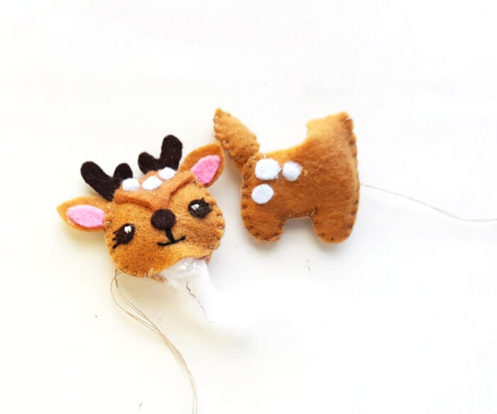 Free Felt Deer Stuffie Pattern