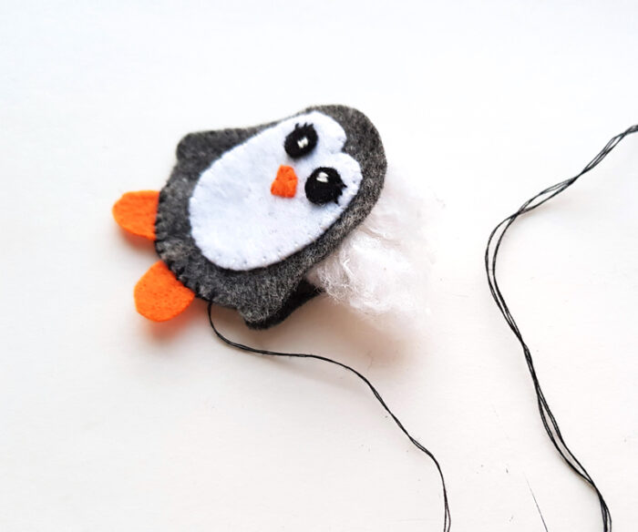 felt penguin stuffie pattern