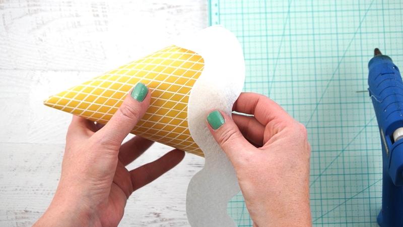 ice cream cone hat