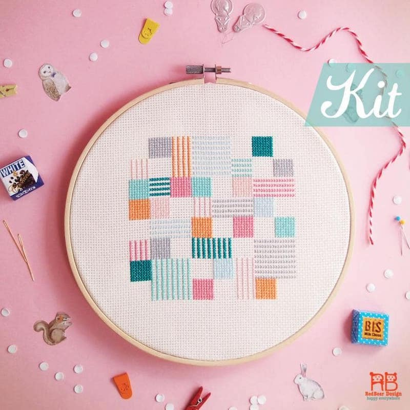 modern cross stitch kits