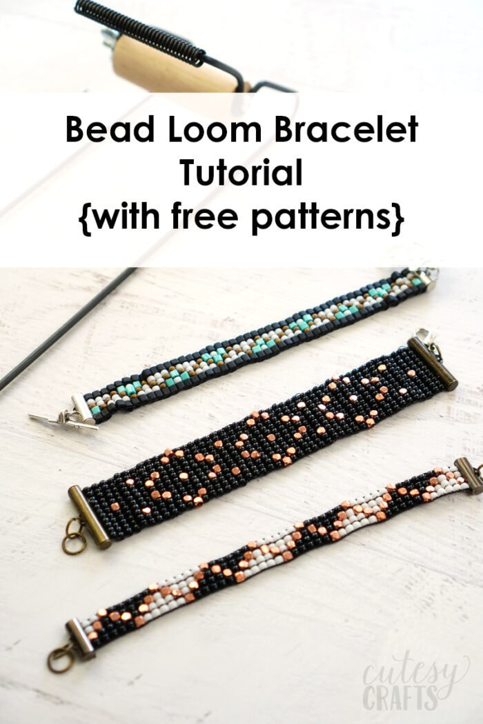 How to Make Bead Loom Bracelets with Free Bead Loom Bracelet Patterns