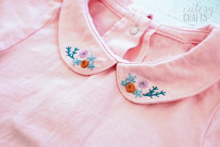 Embroidered Onesie Tutorial