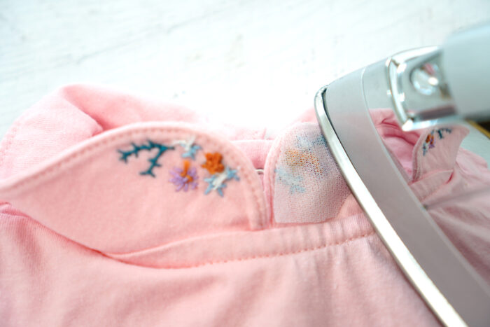 how to embroider on clothing