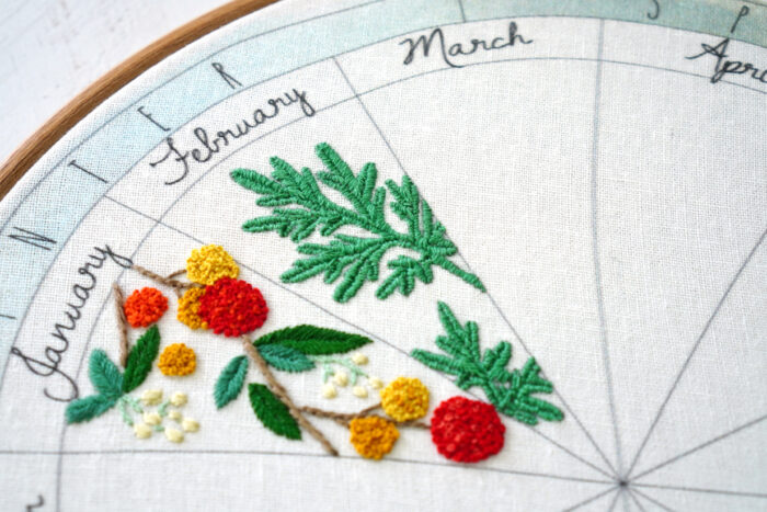 stitch diary embroidery