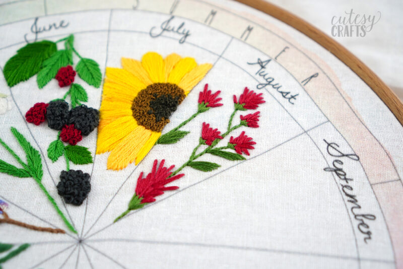 Indian Paintbrush Embroidery
