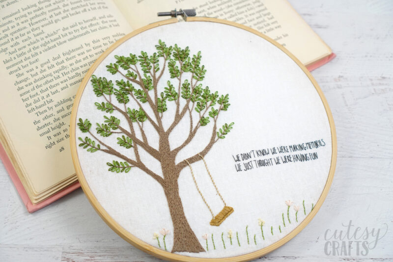 Free Embroidery Pattern for Kids