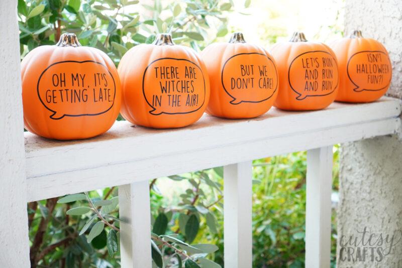 Cricut Halloween Craft