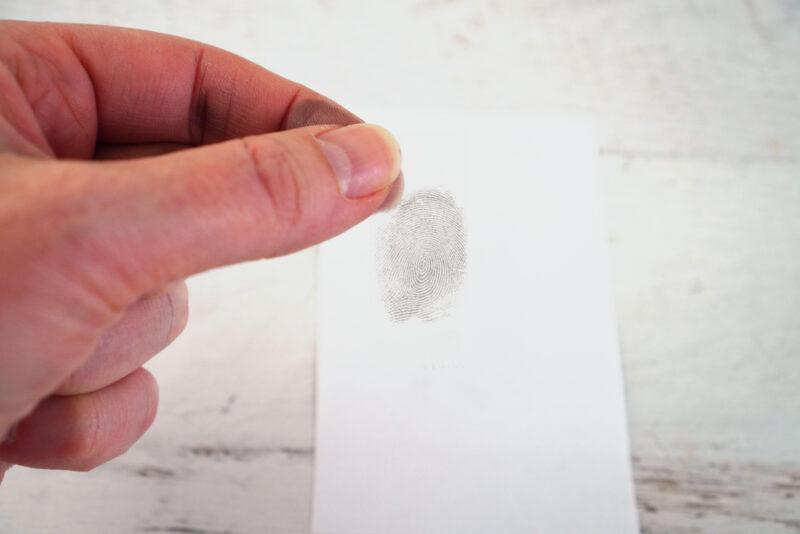 No mess fingerprint activity