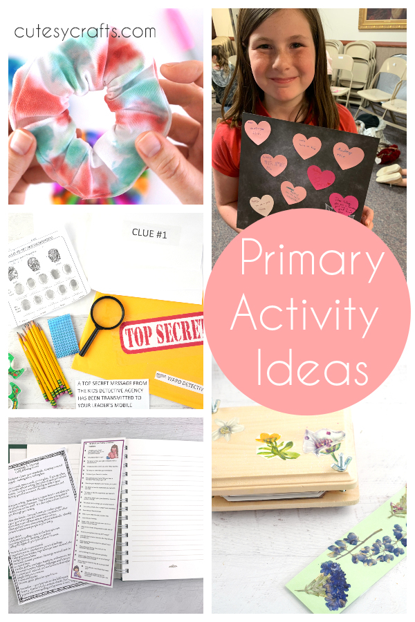 Fun Primary Activity Ideas for Kids
